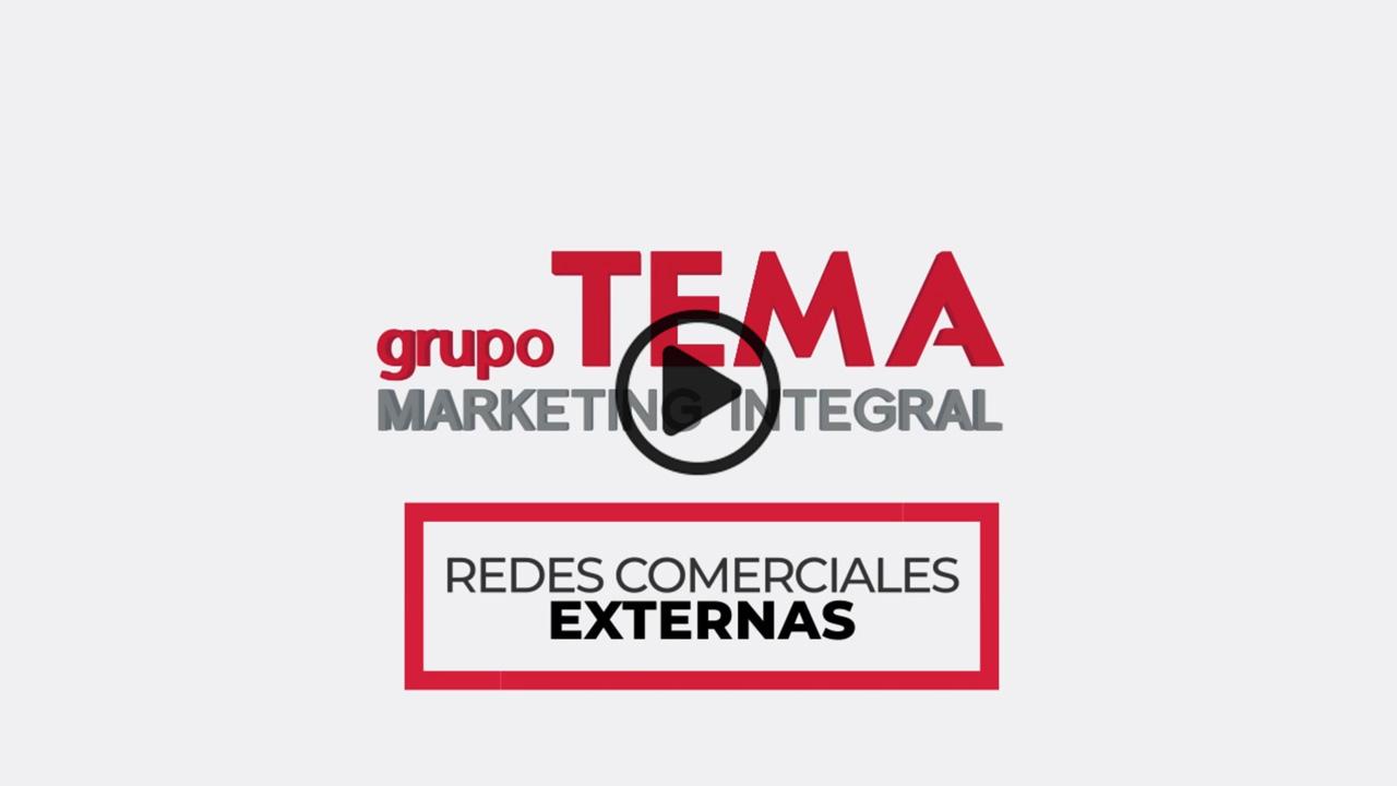 Grupo TEMA – Redes Comerciales Externas