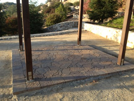 Flagstone pavers in Temecula McCabe's Landscape Construction