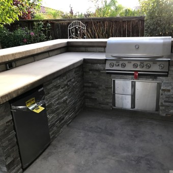 Creating an outdoor kitchen