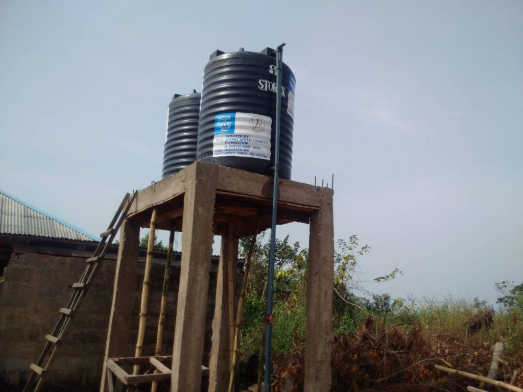 Hope Spring Water Foundation digs borehole for Joga