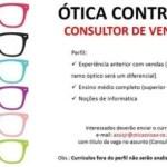 CONSULTOR DE VENDAS (ÓTICA) – FORTALEZA/CE