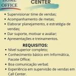 SUPERVISOR DE CALL CENTER (ENVIAR CV ATE 15/06/2020) – FORTALEZA/CE