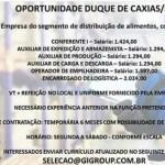 OPORTUNIDADES PARA DUQUE DE CAXIAS!!!