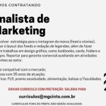 ANALISTA DE MARKETING – BELO HORIZONTE/MG