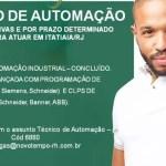 TÉCNICO DE AUTOMAÇÃO ITATIAIA/RJ
