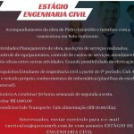ESTAGIO EM ENGENHARIA CIVIL – BELO HORIZONTE/MG