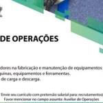 AUXILIAR DE OPERAÇÕES – RIBEIRÃO DAS NEVES/MG