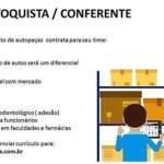 BEZERRA OLIVEIRA CONTRATA ESTOQUISTA E CONFERENTE!!