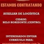 AUXILIAR DE LOGÍSTICA – BELO HORIZONTE/MG