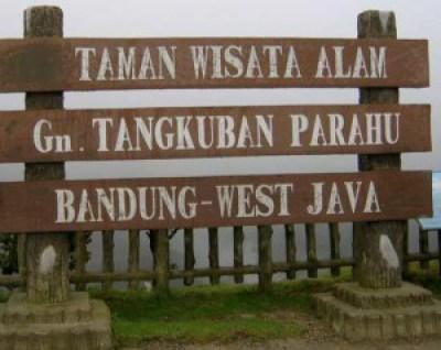 Tangkuban Perahu Montain Indonesia