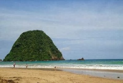 Beautiful Red Island Banyuwangi Indonesia