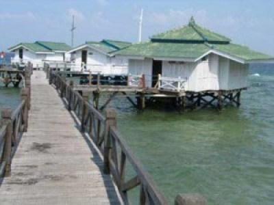Beautiful Bidadari Island Jakarta Indonesia