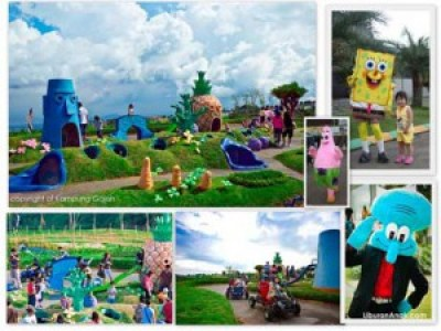 one stop recreation Kampung Gajah Wonderland Lembang Bandung