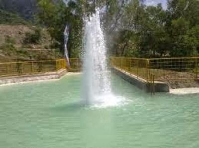 Obek wisata banyu panas Cirebon