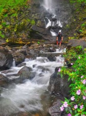 Tempat Wisata Curug Cileat Subang Jawa Barat 1