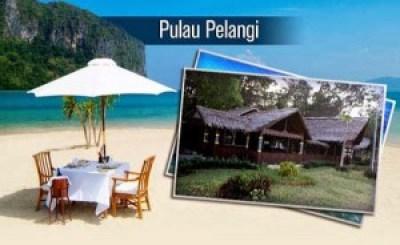 Pantai Pulau Pelangi Kepulauan Seribu