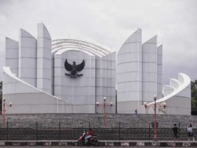 Struggle monument of West Java's people