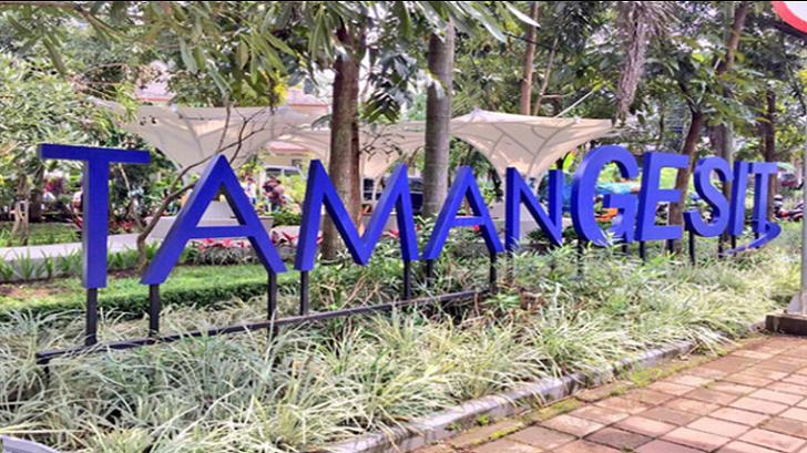 Destinasi Wisata Bandung Taman Gesit Terbaru