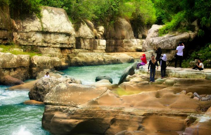 Destinasi Wisata Tonjong Canyon Di Kota Tasikmalaya Tempat Wisata