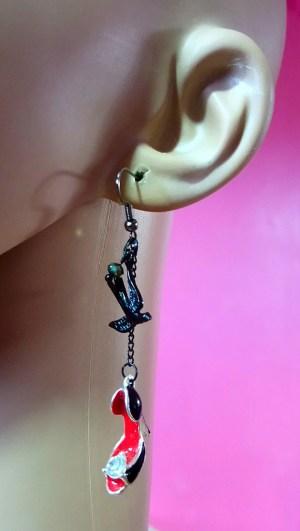 Rockabilly and Nautical earrings