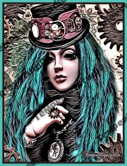 Steampunk doll delight