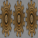 Gears image applied as texture