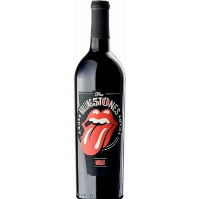 Wines That Rock: Rolling Stones 40 Licks Merlot