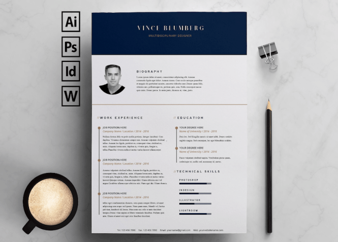 65 Free Resume Templates For Microsoft