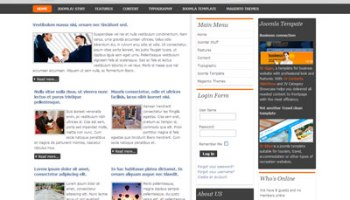 Jv snow free joomla portfolio template for business jv nicebody free joomla premium template for business portfolio accmission Gallery