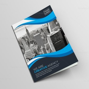 Bi-Fold Creative Brochure