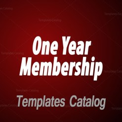 One Year Membership