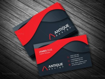 Multicolor Business Card Template