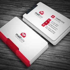 Clean Simple Business Card Template