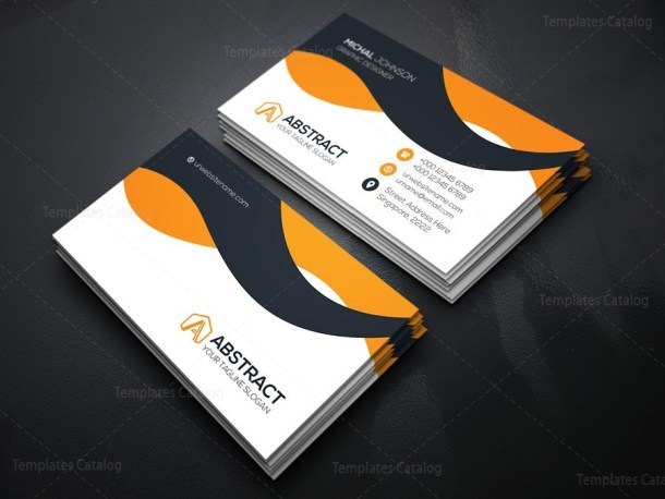 Corporate Visiting Card Template