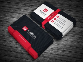 Mailbox Business Card Template