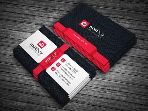 Mailbox Business Card Template