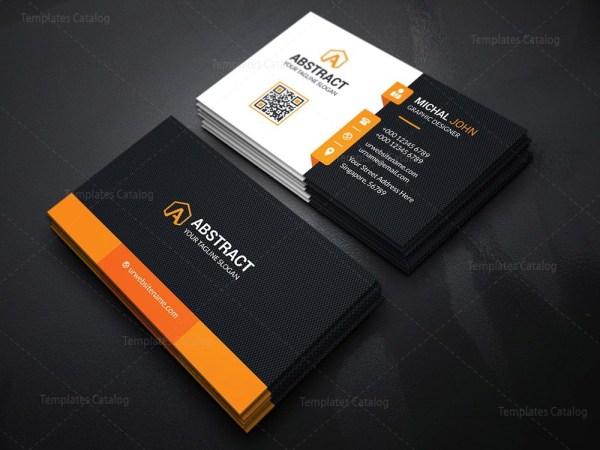 Professional Visiting Card Template
