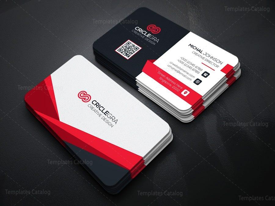 Stylish Technology Business Card 000170