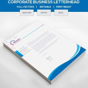 eps corporate letterhead template