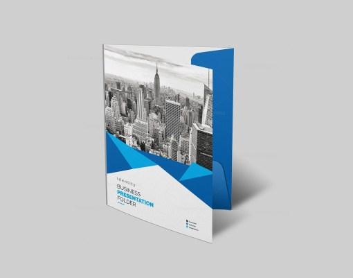 PSD Presentation Folder Template