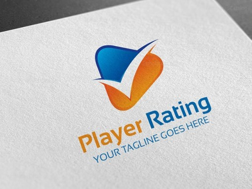 Player Rating Logo Template