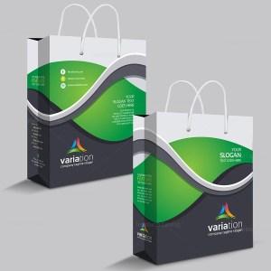 Premium Shopping Bag Template