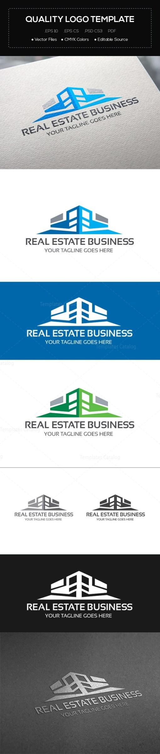 Real Estate Company Logo Template