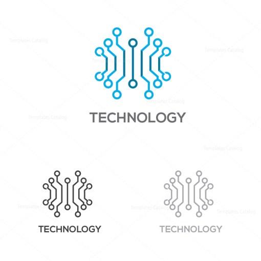 Technology Company Logo Template