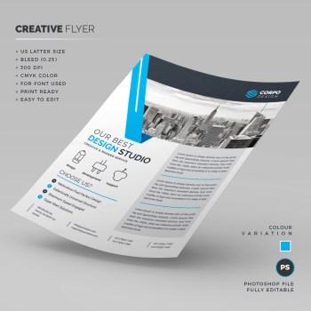 Design Studio Corporate Flyer Template