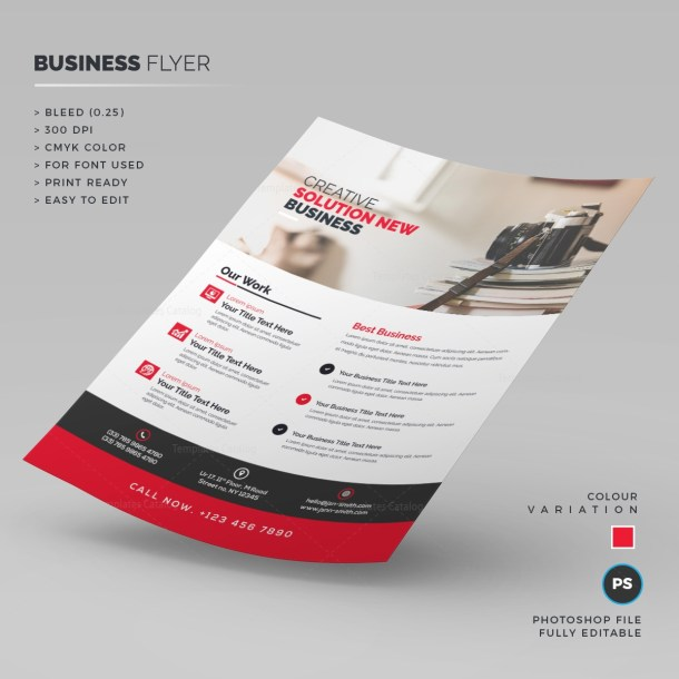 PSD Business Flyer
