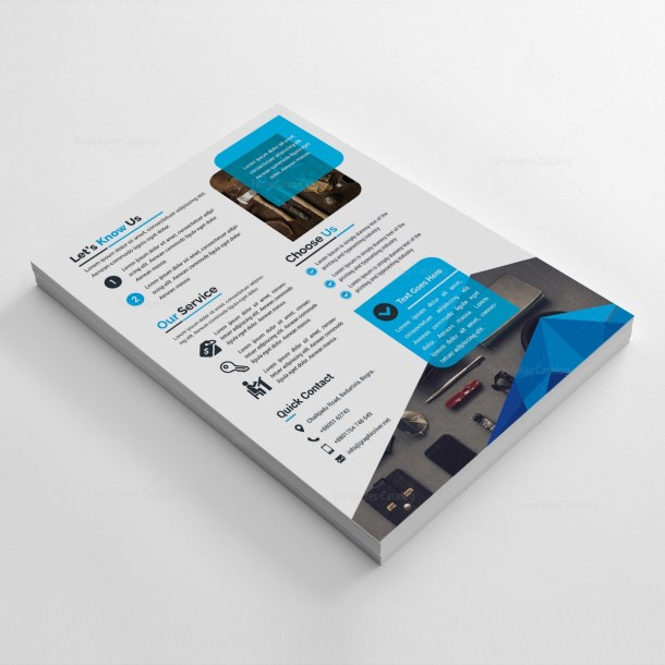 Sleek Corporate Flyer