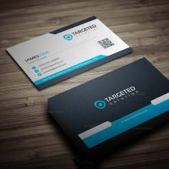 Targeted Business Card Template
