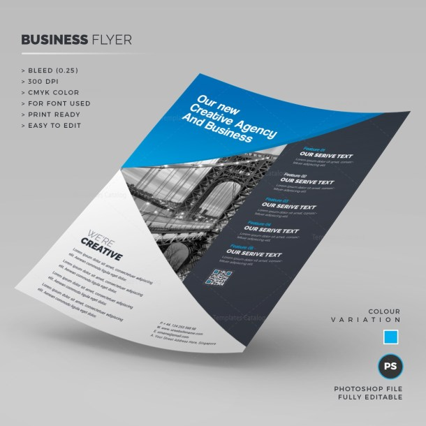 Triangle Corporate Flyer