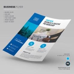 Workshop Corporate Flyer